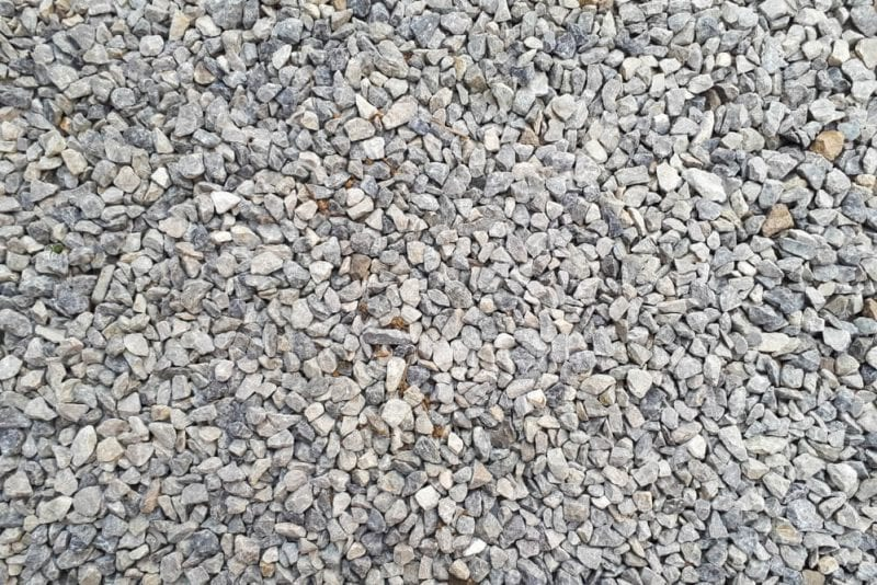 Gravel as aggregate