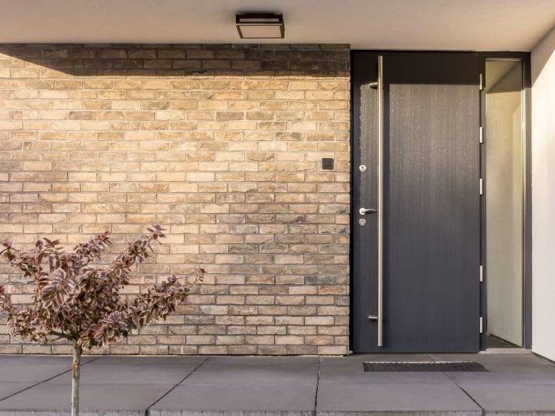 Modern front door - JTD