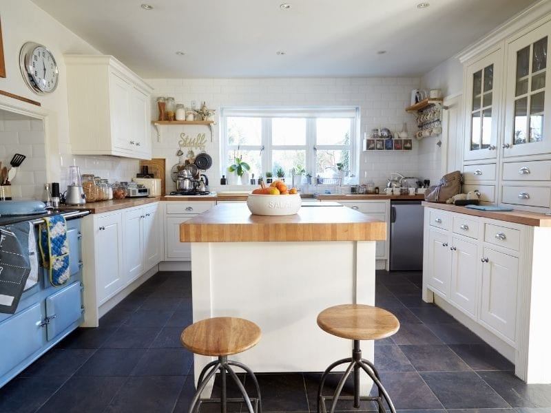 Slate kitchen counters - JTD
