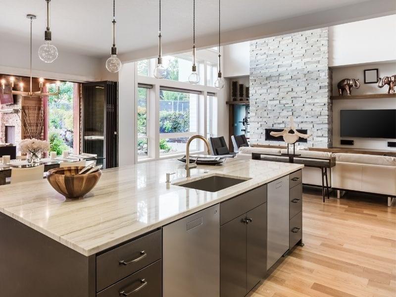 Stone kitchen counters - JTD